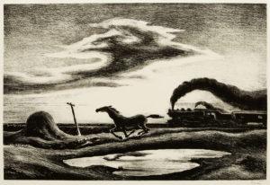 Thomas Benton's The Race (Homeward Bound)