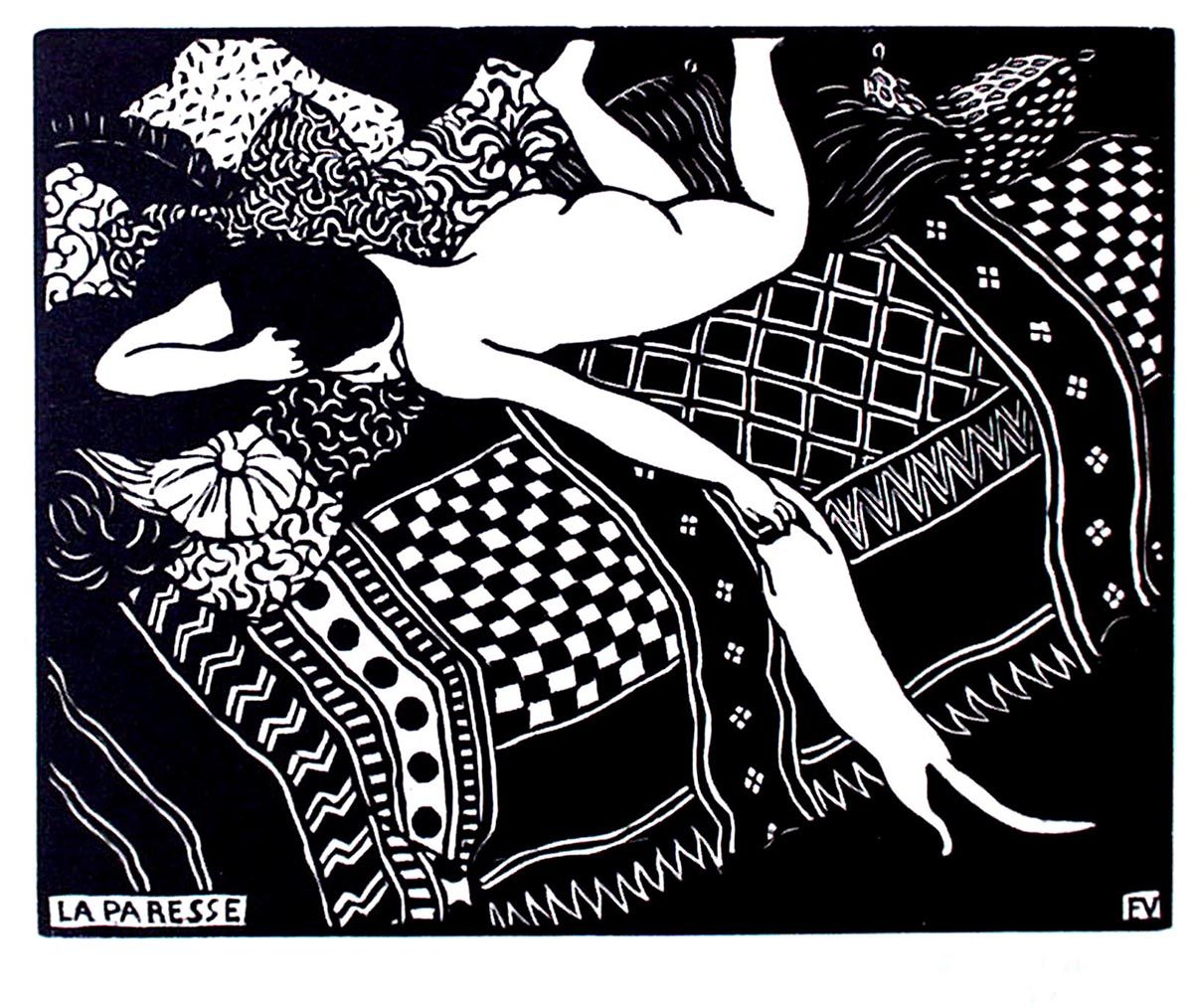 VALLOTTON_La Paresse