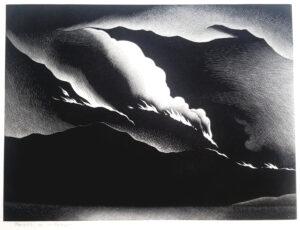 Paul Landacre, Death of a Forest, 1931