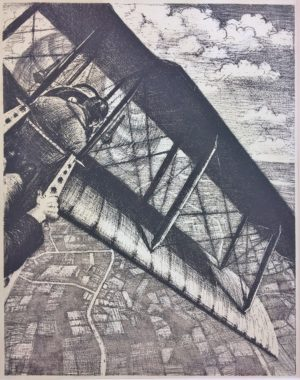 Christopher NEVINSON - Banking at 4000 Feet