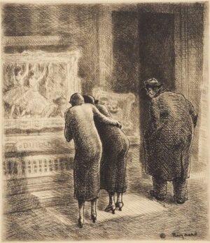 Grant REYNARD, Art Dealer's Window